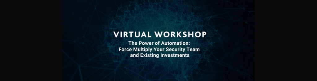 EAST Virtual Workshop – The Power of Automation