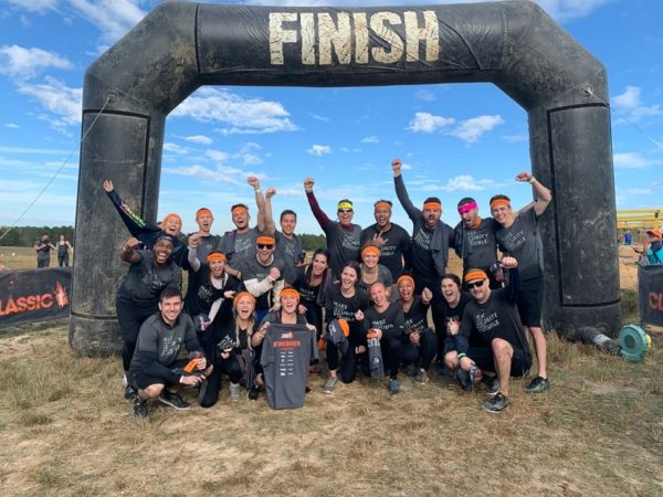 The RQ Tampa team after finishing a Tough Mudder race! Odds are 90% of this group was recruited by our CISO, John Burger
